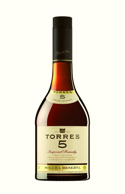 Torres Brandy 5  Nacional 2013